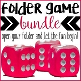 Counseling Games: File Folder Game Bundle for Elementary School Counseling