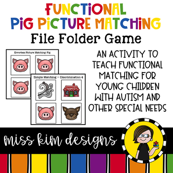 Folder Game: Functional Three Little Pig Matching for Students with Autism