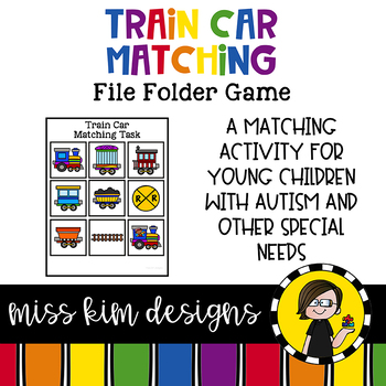 Folder Game: Train Car Matching for Students with Autism