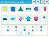 Folder Games - 2 Dimensional Shapes