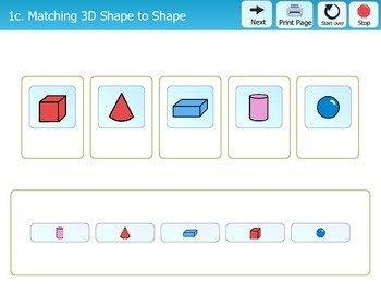 Folder Games - 3 Dimensional Shapes