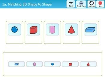 Folder Games - 3 Dimensional Shapes