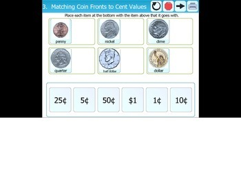 Folder Games - Learning money Coins and Bills