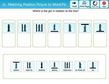 Folder Games - Position Words