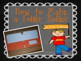 Folder Holder How-To {A Free Tutorial}