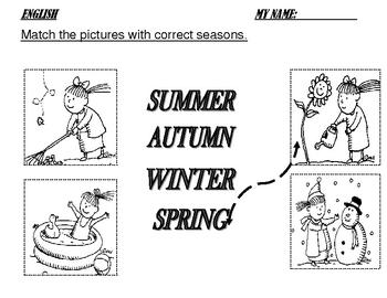 Folder K: worksheets for five-year-old kids