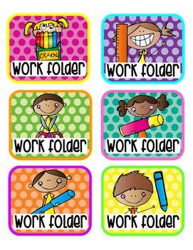 Folder Labels {Set 3}