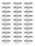 Folder Labels *Folder to Borrow*