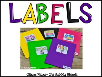 Folder Labels- Freebie
