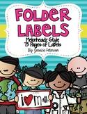 Folder Labels Melonheadz Edition