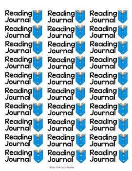 Folder Labels, Notebook Labels, Journal Labels