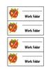 Folder Labels by Christen Gildard