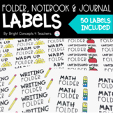 Folder, Notebook & Journal Labels {1 x 2 5/8 inches}