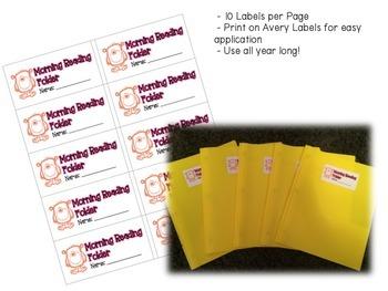 Folder & Notebook Labels