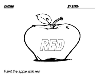 Folder PK: worksheets for four-year-old kids