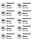 Folder/Spiral Labels