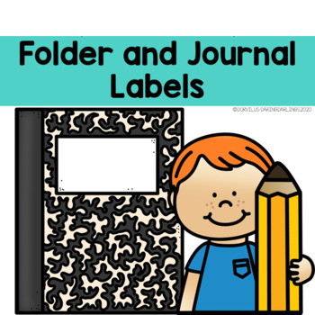 Folder and Journal Labels