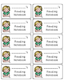 Folder and Notebook Labels for All Academic Subject Areas