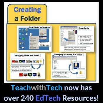 Computers Lesson - Folders