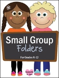 Folders and Labels for Small Groups