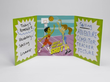 Folders for Focusing - Teacher Pack of 24 Sporting Spirit Folders
