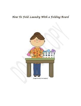 Folding Laundry with a Folding Board