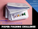 Folding Paper Challenge