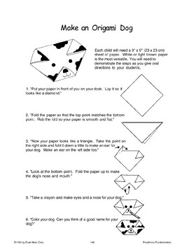 Folding Paper Practice (Listen/Follow Directions)