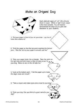 Folding Paper Practice (Listen/Follow Directions)