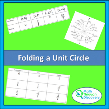 Folding a Unit Circle