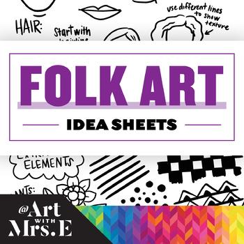 Folk Art   Idea Sheet