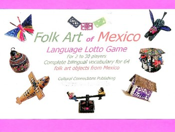 Folk Art of Mexico Language Lotto Game