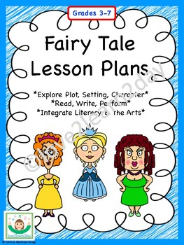 fairy tale lesson plan bundle by love2learn2day tpt. Black Bedroom Furniture Sets. Home Design Ideas