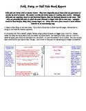 Folk, Fairy, or Tall Tale Book Report - Dust Jacket - Dire
