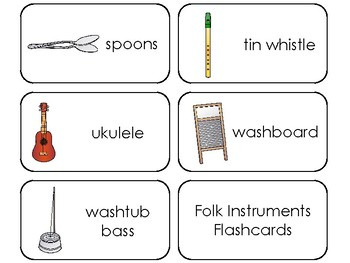 picture relating to Printable Music Flashcards called Folks Applications Printable Flashcards. Preschool Tunes.