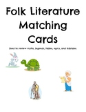 Folk Literature Matching Cards