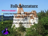 Folk Literature PowerPoint