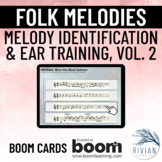 Folk Melodies - Melody Identification & Ear Training Volum