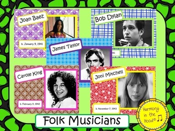 Folk Singers: Musicians in the Spotlight