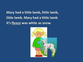 Folk Song - Mary Had a Little Lamb