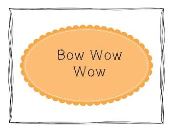 Folk Song Visuals: Bow Wow Wow