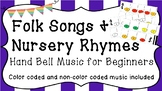 Folk Song and Nursery Rhyme Hand Bell Music for Beginners!