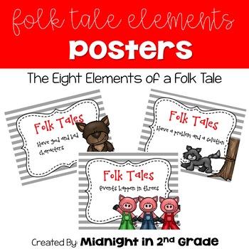 Folk Tale Elements Posters