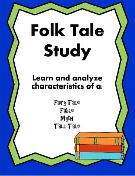 Folk Tale Genre Study