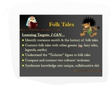 Folk Tale PPT-Common Core Overview with Collaborative Analysis