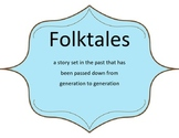Folk Tale Posters (Myths, Legends, Fairytales, Tall tales,