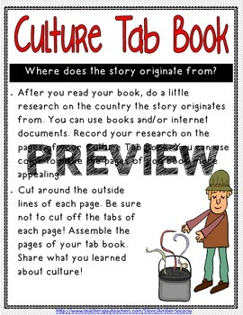 Folk Tale Activities for Centers, Whole Group, or Take-Home Projects