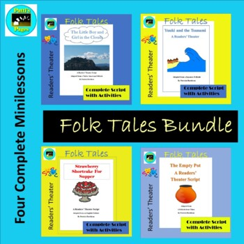 Folk Tales From Around the World-- Readers' Theater Adaptations Bundle