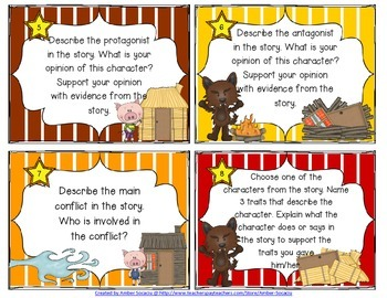 Folk Tales and Legends Task Cards with Recording Sheets