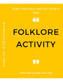 Folklore Activity
